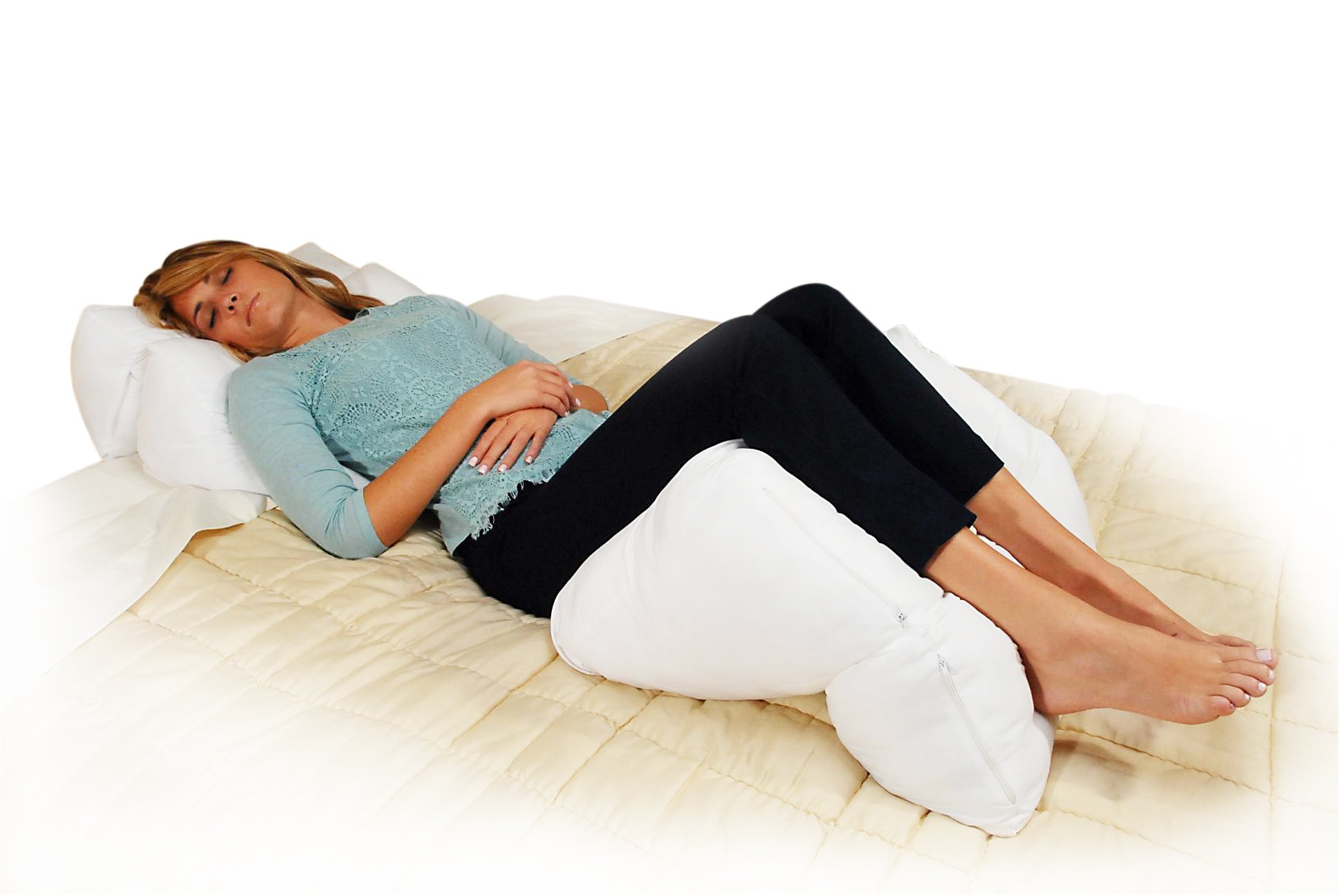 Contour Products 10-in-1 Flip Pillow, King