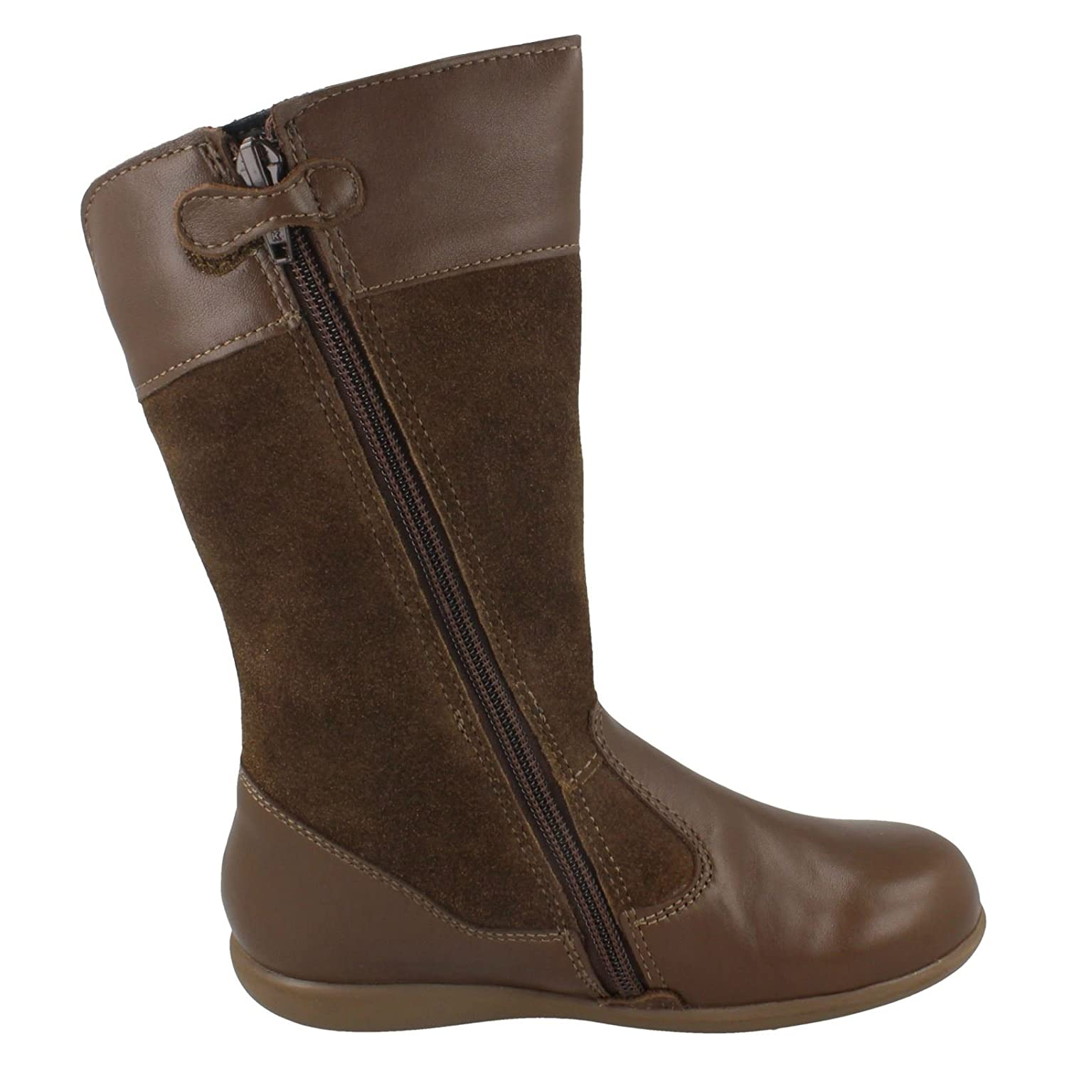 Startrite Girls Aqua Rite by Mid Calf Decorative Boots Aqua Flutter Brown  Size 10.5F: Amazon.co.uk: Shoes & Bags