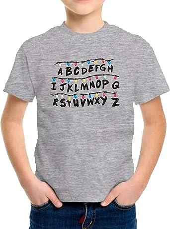 Camiseta de NIÑOS Stranger Things Once Series Retro 80 Eleven Will 017: Amazon.es: Ropa y accesorios