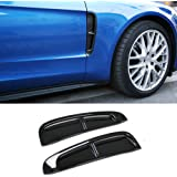 Beautost Fit For Porsche New Panamera 2017 2018 Front Side Fender Vents Air Outlet Cover Trim