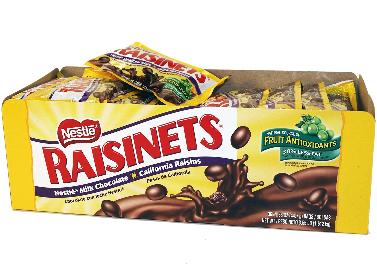 Amazon.com : Raisinets (36 Ct) : Candy And Chocolate Covered ...