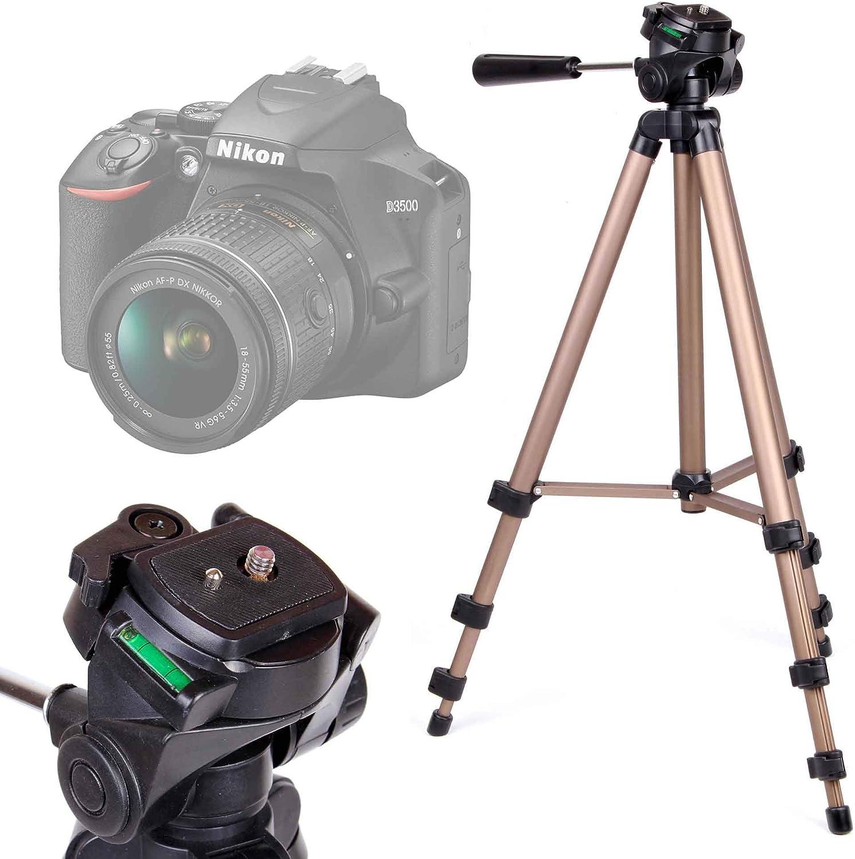 DURAGADGET Trípode Profesional para Cámara Nikon D3500: Amazon.es ...