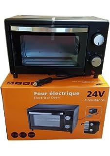 HORNO ELECTRICO 24V 300W 7 LITROS CON PROGRAMADOR: Amazon.es ...