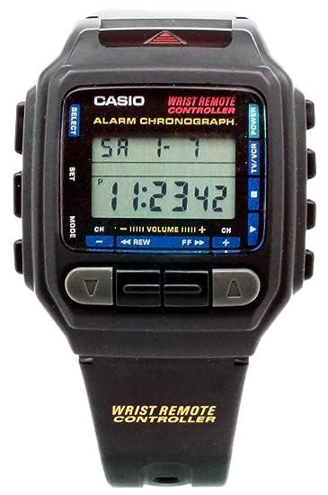 Casio CMD-30-1 - Reloj de Pulsera Hombre, Caucho, Color Negro: Amazon.es: Relojes