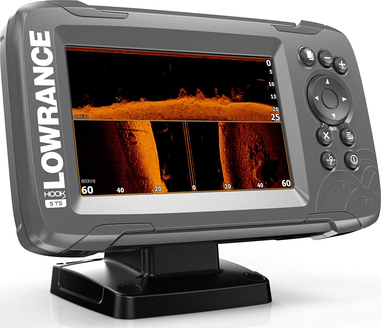Amazon.com: Buscador de peces Lowrance HOOK2 con transductor ...