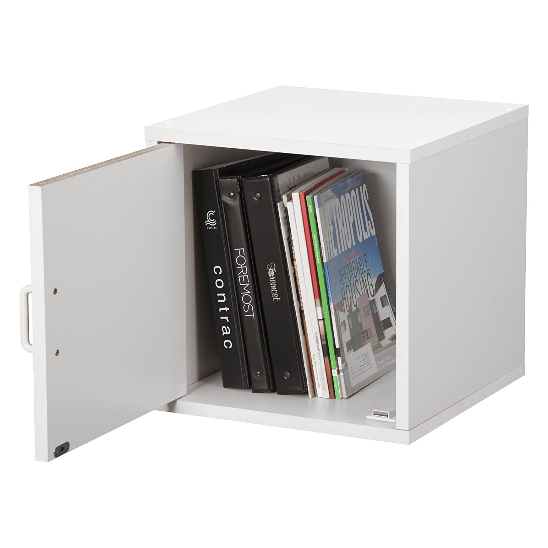 Amazon.com: Foremost 327501 Modular Door Cube Storage System, White ...