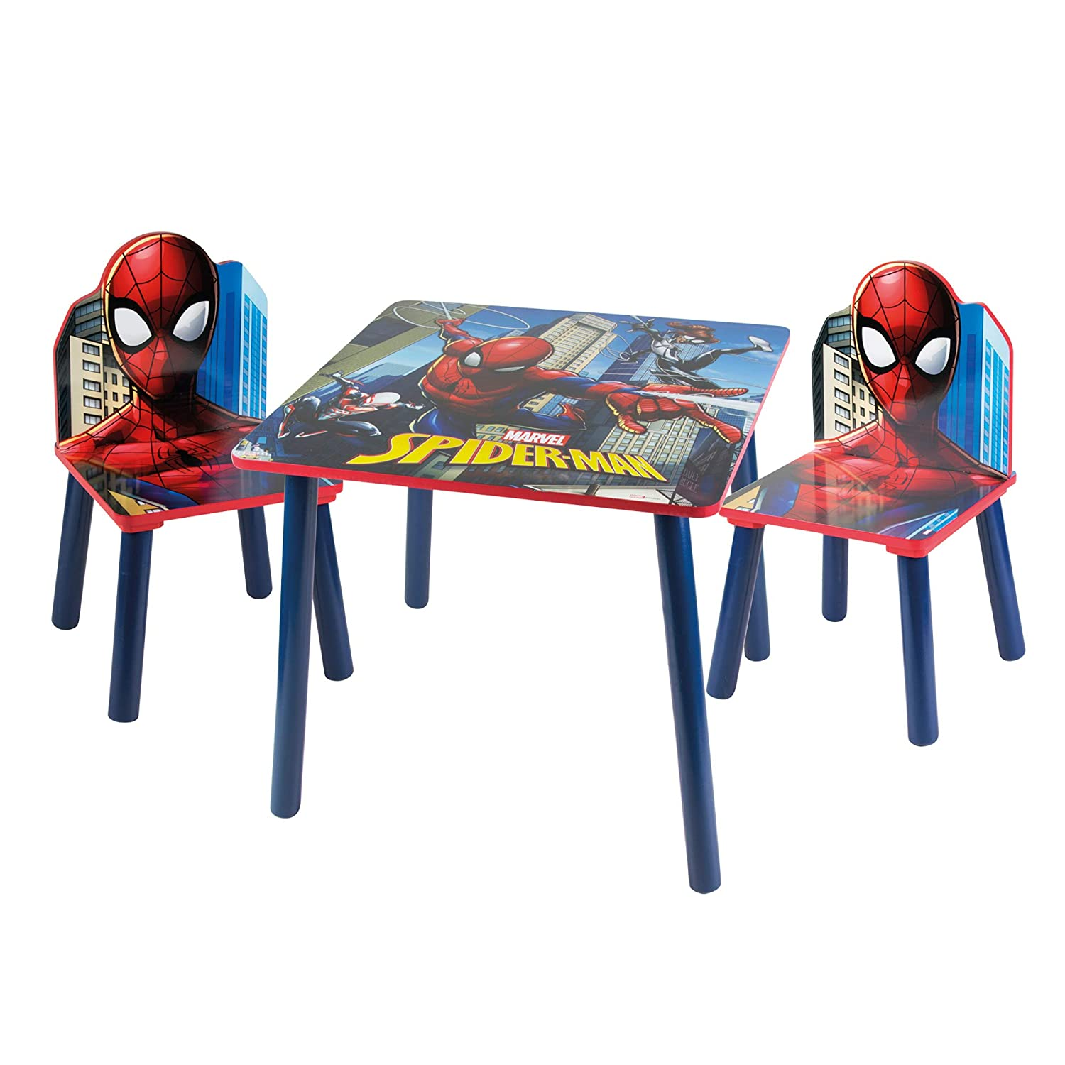 Pink Paw Patrol Themed Wooden Kids Table /& Chairs Set
