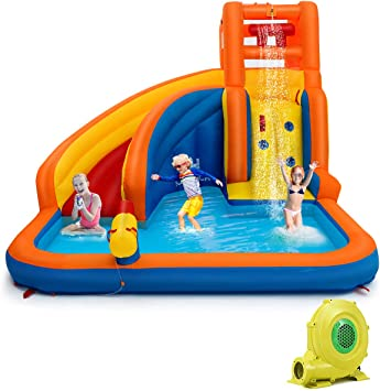 Amazon.com: Costzon inflable Water Bouncer, tres ...
