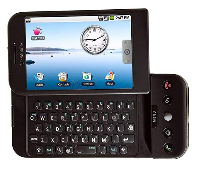amazon com t mobile htc g1 android smartphone phone black cell rh amazon com Motorola I1 T-Mobile Phones