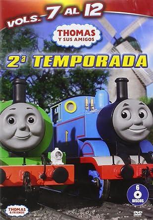 Pack Thomas Y Sus Amigos  2 Temporada DVD Amazones Dibujos