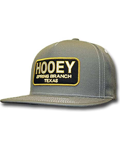 HOOey Men s Grey Hometown 5 Panel Snapback Baseball Cap Grey One Size b250ed6f442