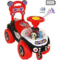 Deal Bindaas Kid's Plastic Dream Rider, 2-5 Years (Black)
