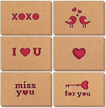 1 4x6 Love you card