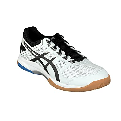 b2ca65774367 ASICS Gel-Flare 6, Chaussures Multisport Indoor Homme, Multicolore  (White/Black
