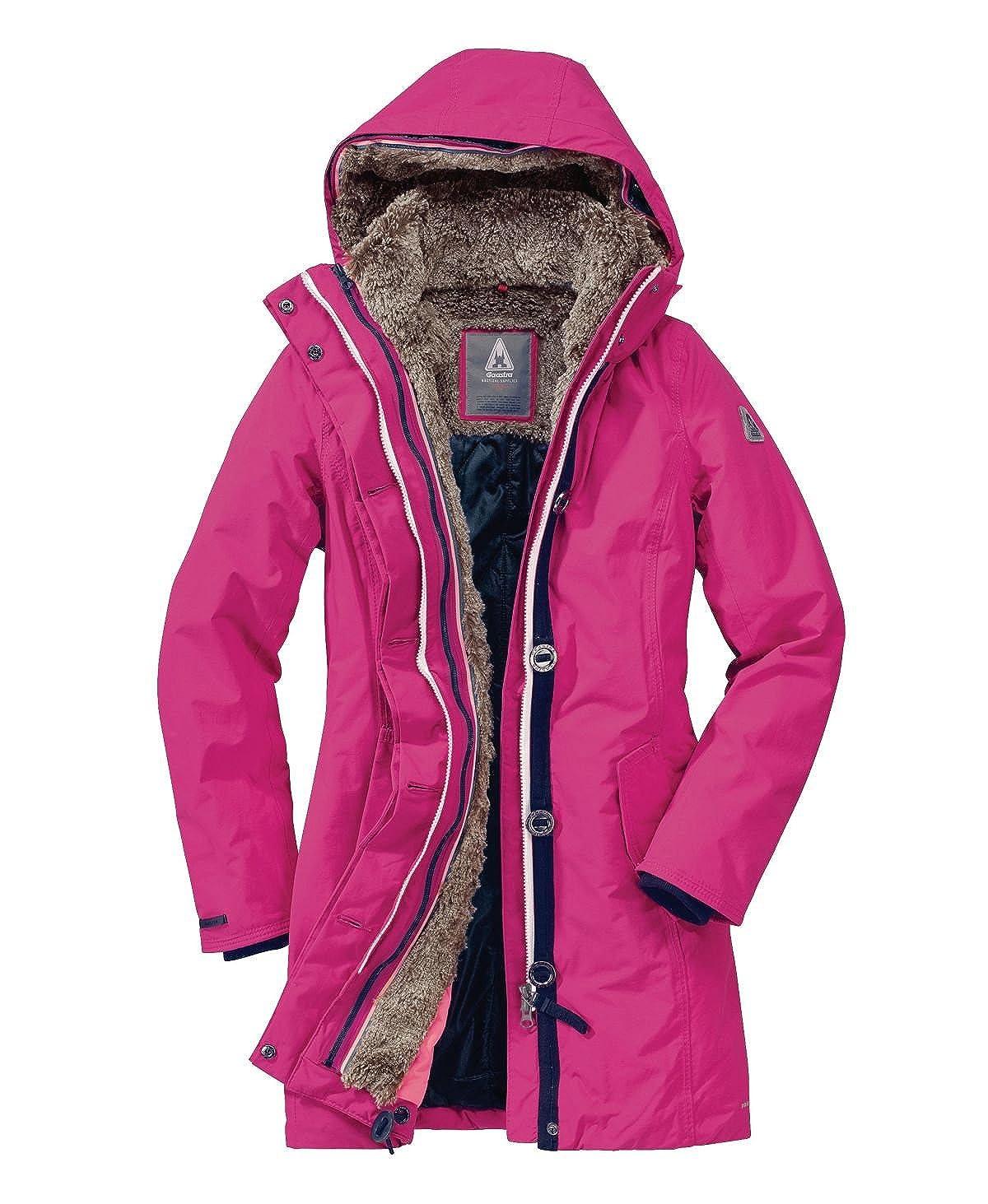 GAASTRA Mantel Hailstone Teddyfellfutter, tailliert Pink