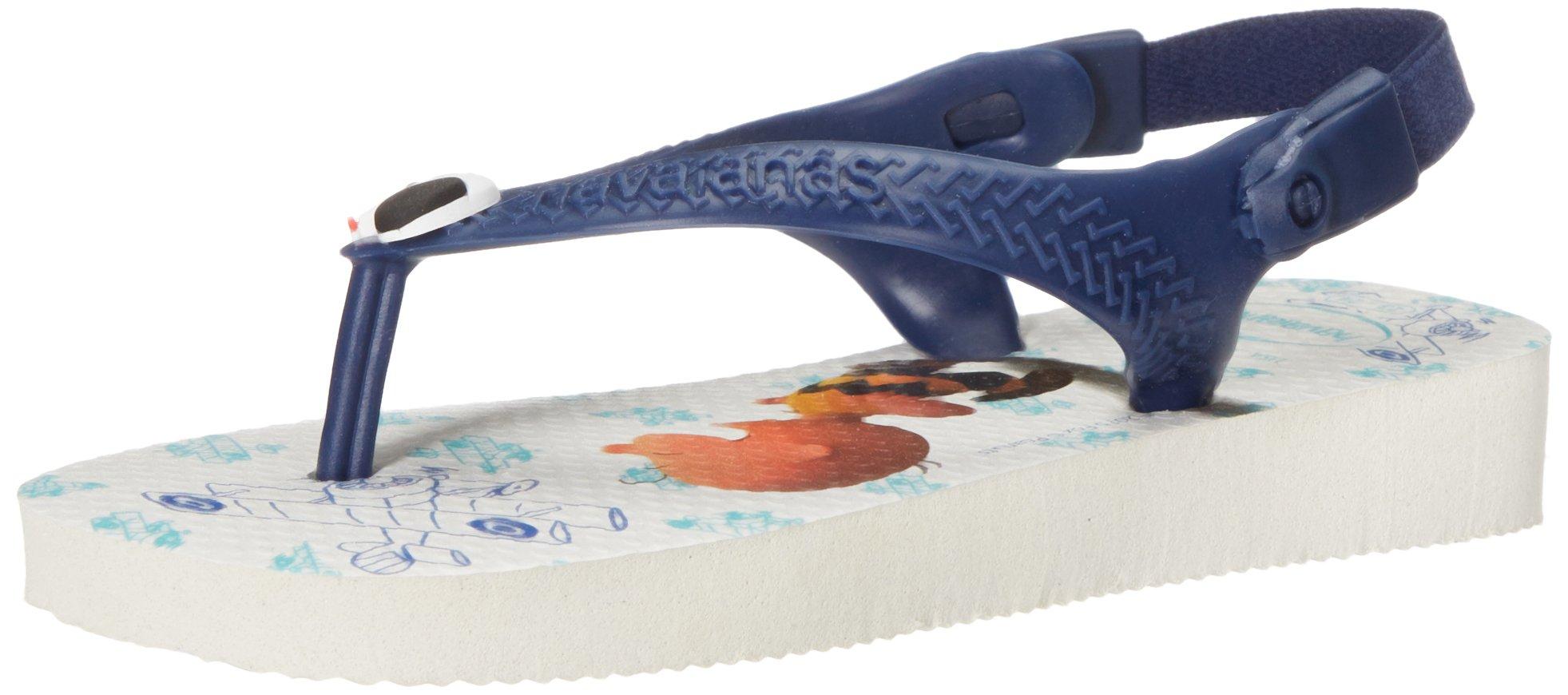 2cb20481e Galleon - Havaianas Baby Flip Flop Sandals Backstrap