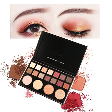 FOCALLURE 18 Colores Paletas de Sombras de Ojos Paletas de ...