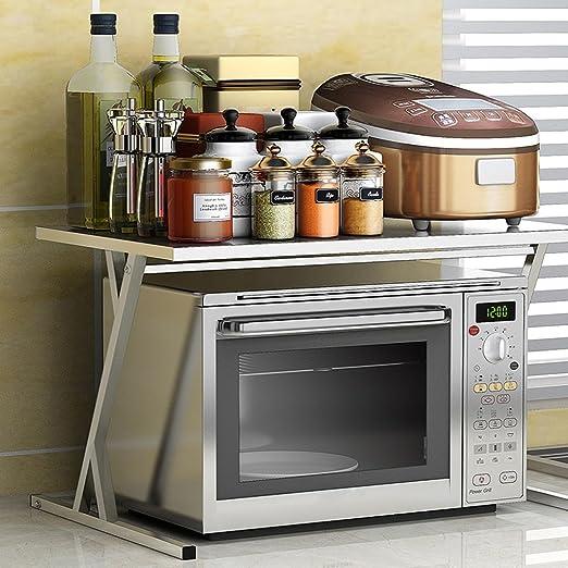 TLMY - Estante de Cocina de Acero Inoxidable para microondas y ...