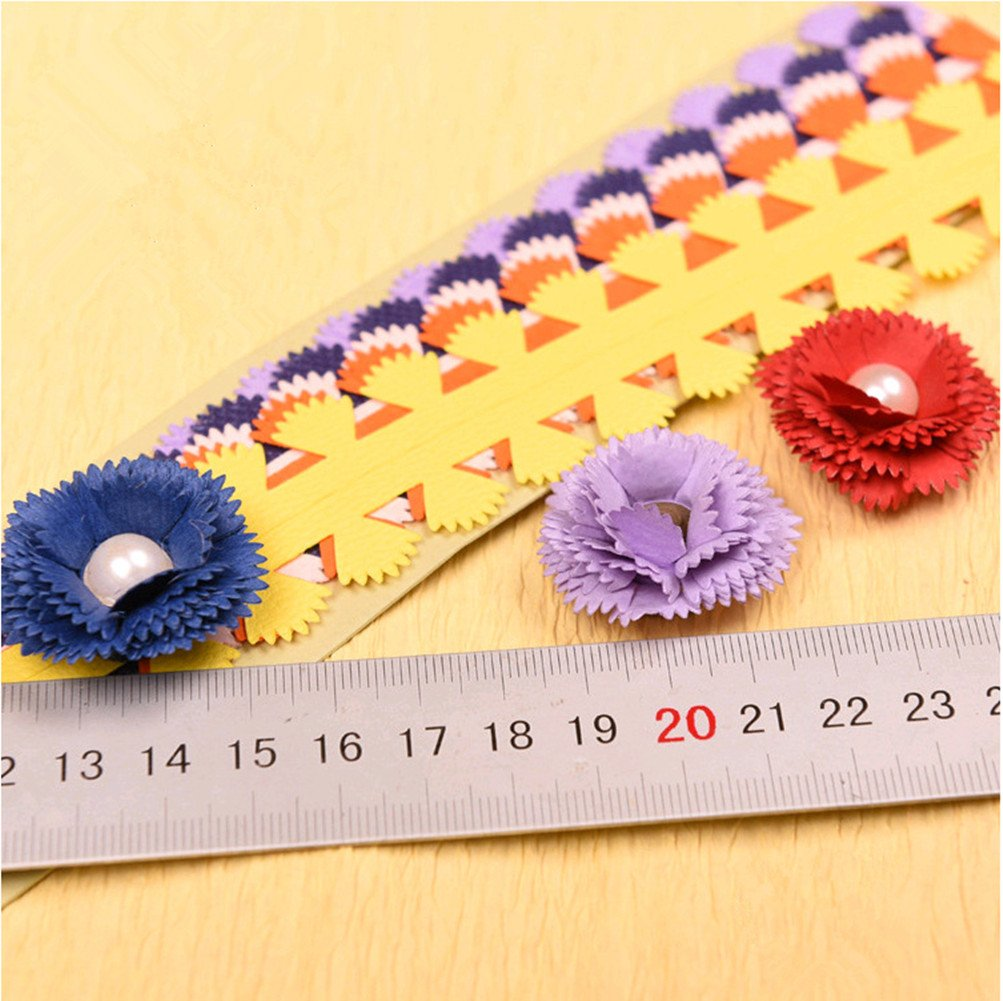 Paper Quilling Strips Quilling Flowers Paper DIY Flower Design Assorted Color Paper Handcrafted Quilling #8