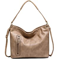 JOSEKO Bolso de mano para mujer, bolso de mano, bolso de hombro elegante, bolso Hobo, bolso grande para mujer, adecuado…