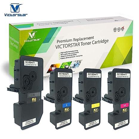 Amazon.com: Victorstar @ cartucho de tóner compatible TK5230 ...
