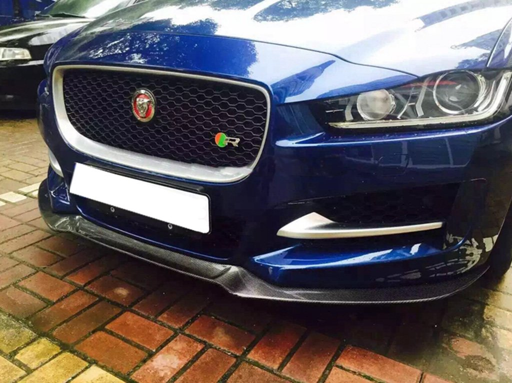 Amazon.com: Eppar New Carbon Fiber Front Lip Spoiler for Jaguar XE 2014-2017: Automotive