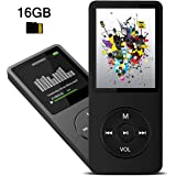 MP3 Player, Dyzeryk Music Player with 16GB Micro SD Card, Support Speaker, Photo Viewer, Video Play, FM Radio, Voice…