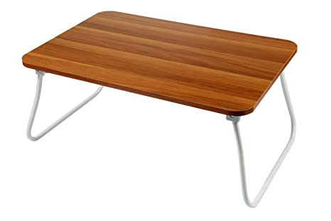 Groovy Homebi Lap Desk Tray Table Laptop Stand Portable Bed Desk Breakfast Tray For Bed Couch And Sofa With Mdf Top Board And Foldable Metal Legs 11 20H Theyellowbook Wood Chair Design Ideas Theyellowbookinfo