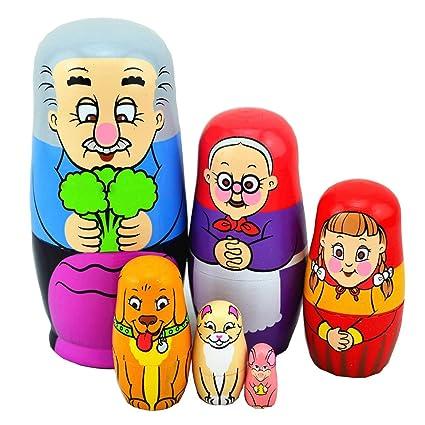 russian girl Grandpa