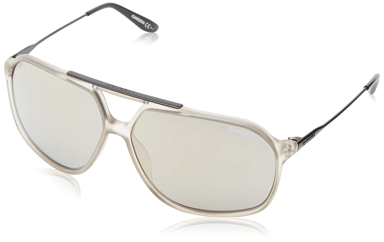 Carrera CA81S Flat-Top Sunglasses Light Gray 63 mm CARRERA81UE_4OI-63