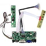 """VSDISPLAY HD-MI VGA DVI Audio LCD Controller Board for 21.5"""" 23.8"""" 1920x1080 30Pin LCD Screen T215HVN01.0 M215HW03 V1 V2 M215"""