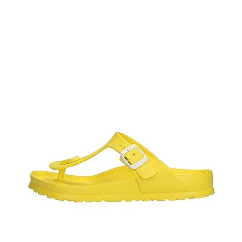 BIRKENSTOCK Giseh gelb Eva, gelb: : Schuhe