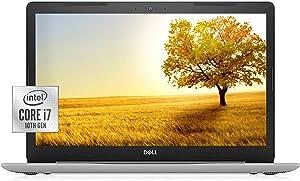2021 Newest Dell Inspiron 17.3 Inch Laptop FHD Display, 10th Gen Intel Core i7-1065G7 Processor, GeForce MX230, 16GB RAM, 512GB SSD + 1TB HDD, DVD-RW, Webcam, Wi-Fi, HDMI, Windows 10 Home, Silver