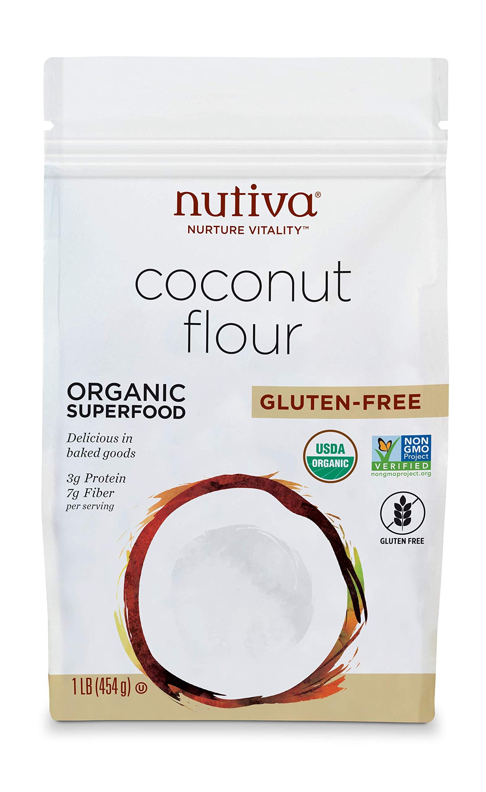 Nutiva USDA Certified Organic, non-GMO, Gluten-free Coconut Flour, 16-ounce (Pack of 6) by Nutiva (Image #4)
