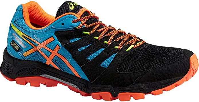 ASICS Gel-FujiAttack 4 G-TX, Hombre Zapatillas de Running, Onyx/Flash Orange/at: Amazon.es: Deportes y aire libre