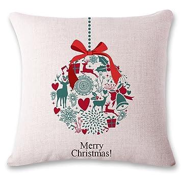 Amazon.com: Boai personalizado cojines almohada de Navidad ...