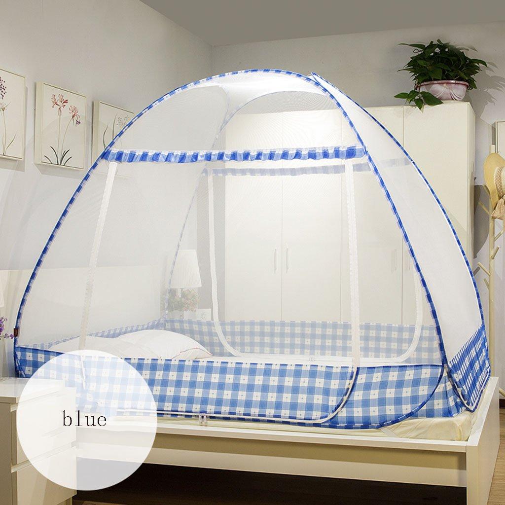 Mosquito Nets Jurte einfach zu installieren Schlafsaal Zimmer drei Türen Dome für Zimmer und Etagenbetten oder Home Schlafzimmer Zubehör