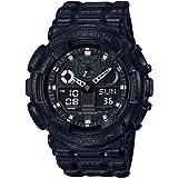 Casio G-Shock Men's Black Dial Resin Band Watch