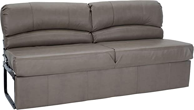 """Amazon.com: RecPro Charles RV Jackknife Sofa   Love Seat   Sleeper Sofa   Length Options 62"""", 68"""", 72""""   11"""" Legs And Hardware Included (68 Inch, Putty): Kitchen & Dining"""