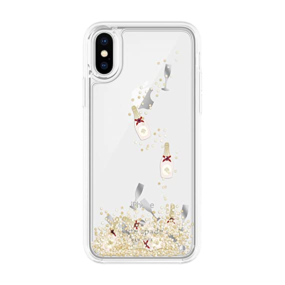 pretty nice 0ea82 6588d Amazon.com: Incipio Apple iPhone X Kate Spade New York Liquid ...