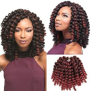 Amazon wand curls jamaican bounce synthetic hair extension wand curls jamaican bounce synthetic hair extension african collection 8 quot 3 packs jamaican bounce pmusecretfo Choice Image