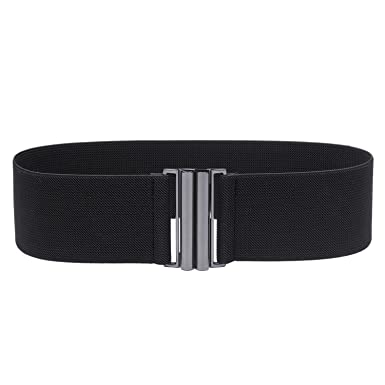 eb71d11f283 Syuer Womens Wide Elastic Waist Belt Cinch Belt Trimmer Stretch Waistband   Amazon.co.uk  Clothing