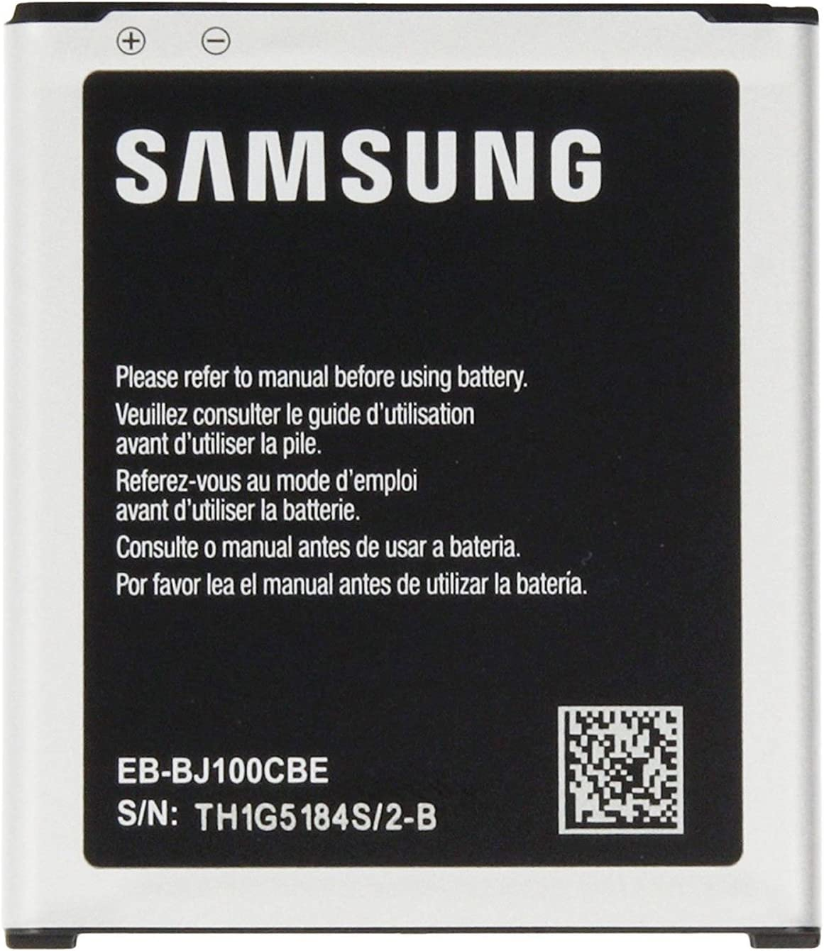 Batería Original EB-J100CBE para Samsung Galaxy J1 (2015) J100/J100H/J100F 1850 mAh NFC (sin Embalaje al por Menor)