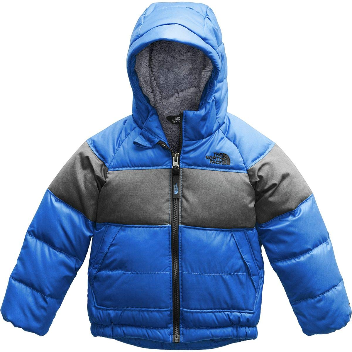 The North Face Kids Baby Boy's Moondoggy 2.0 Down Jacket (Toddler) Turkish Sea 2T Toddler