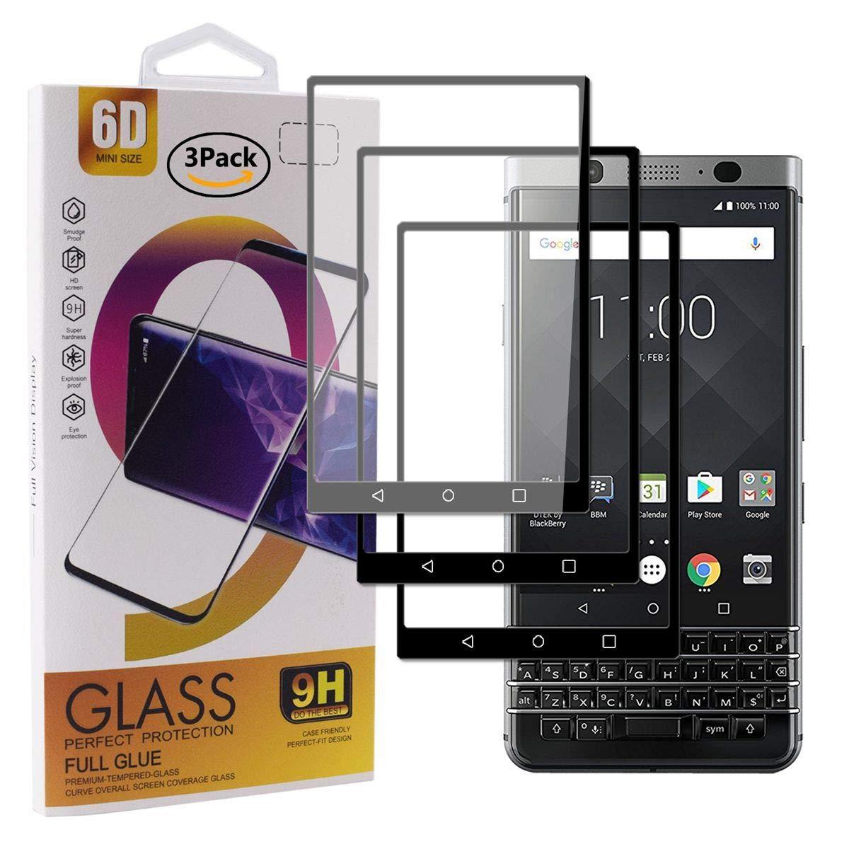 Guran [3 Paquete Protector de Pantalla para Blackberry Keyone ...