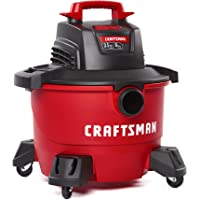 $69 » CRAFTSMAN CMXEVBE17584 6 Gallon 3.5 Peak HP Wet/Dry Vac, Portable Shop Vacuum with…