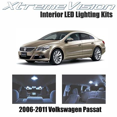 xtremevision Volkswagen Passat 2006 – 2011 (7 piezas) blanco frío paquete de interior LED
