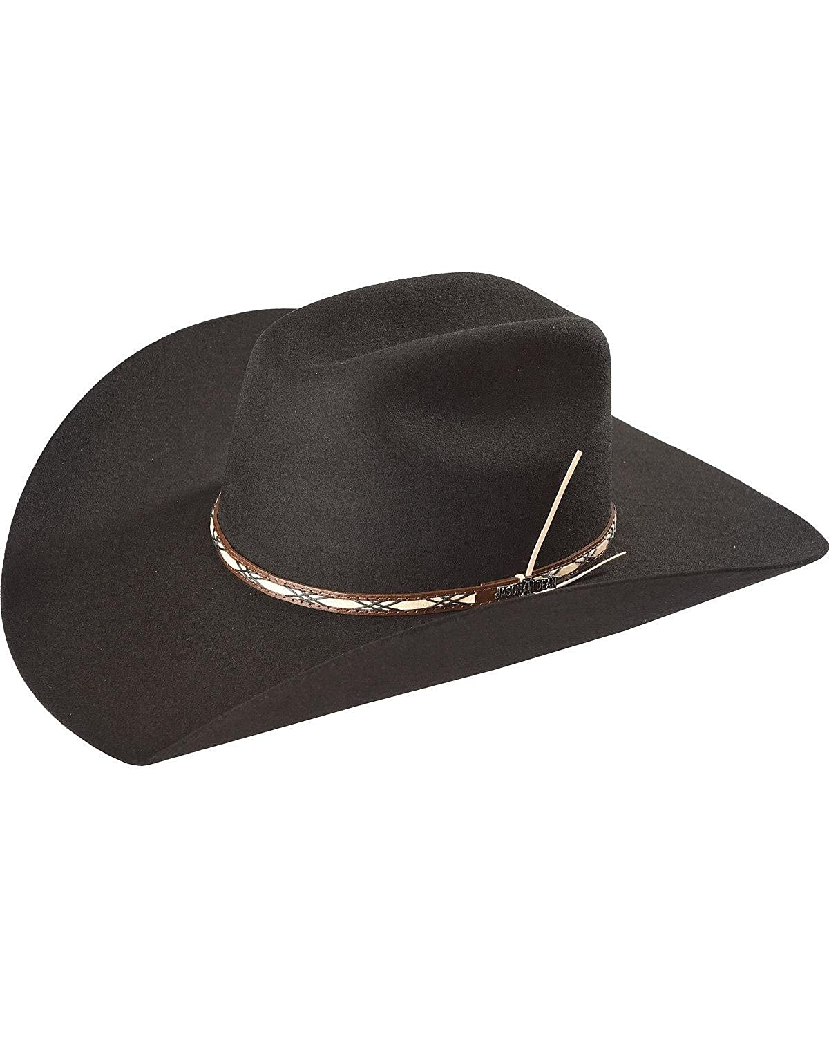 Jason Aldean Men s Amarillo Sky Felt Cowboy Hat - Rwamsk-304107 at Amazon  Men s Clothing store  014077dde66
