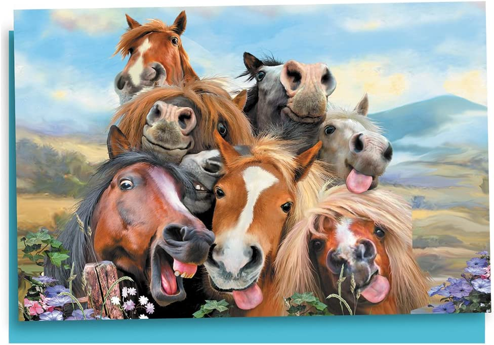 Verdayle Forget Mare /& Foal Greeting Card /& Envelope by Tree Free