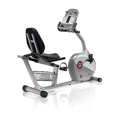 Amazon com : Schwinn 250 Recumbent Exercise Bike : Sports & Outdoors